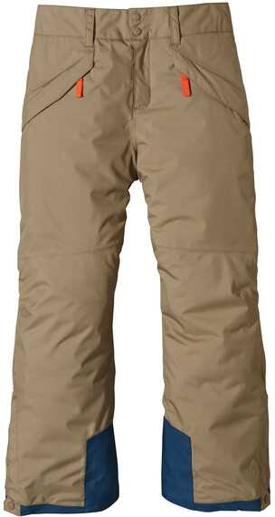 Patagonia Boys' Insulated Snowshot Pants Ash Tan